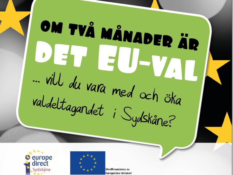 Bor du i Sydskåne och vill engagera dig i EU-valet?