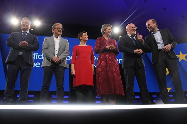 Vad är Spitzenkandidat-processen?