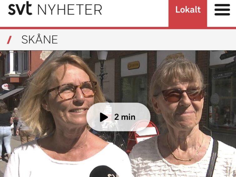Valspurt i Ystad!
