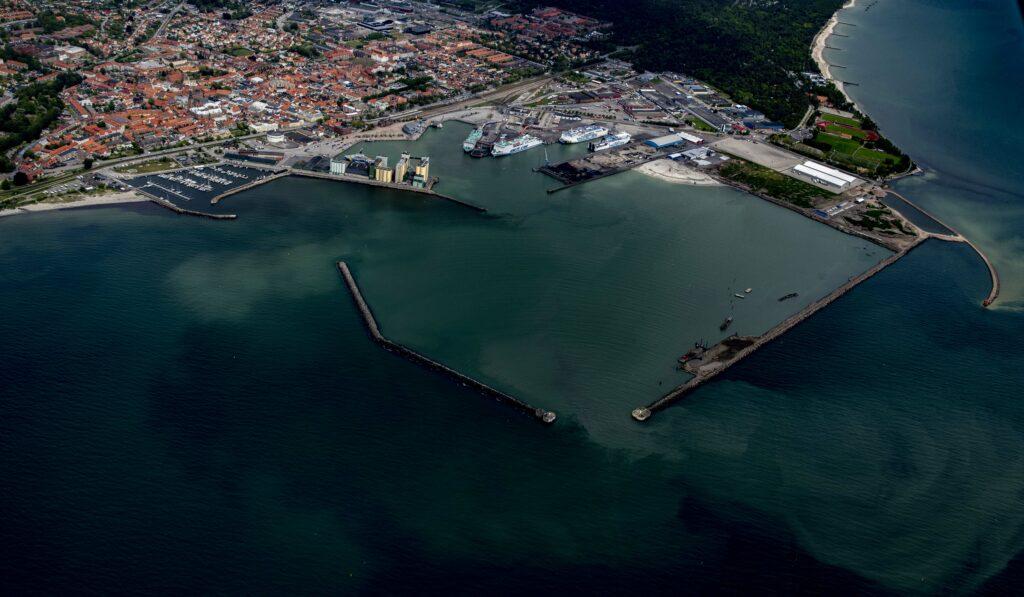 Bild av Ystad hamn