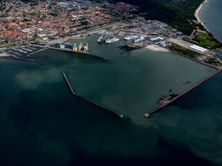 EU-projekt skapar en mer miljövänlig hamn i Ystad