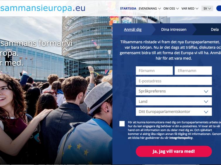 Tillsammans i Europa