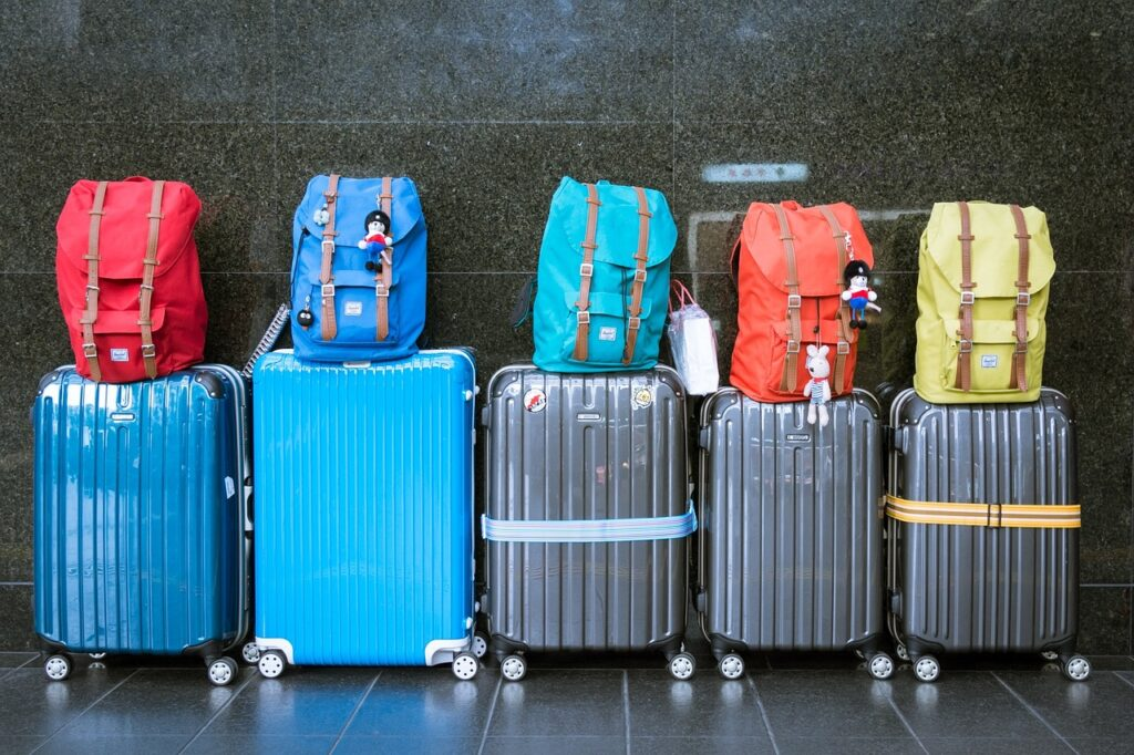 Resväskor och ryggsäckar