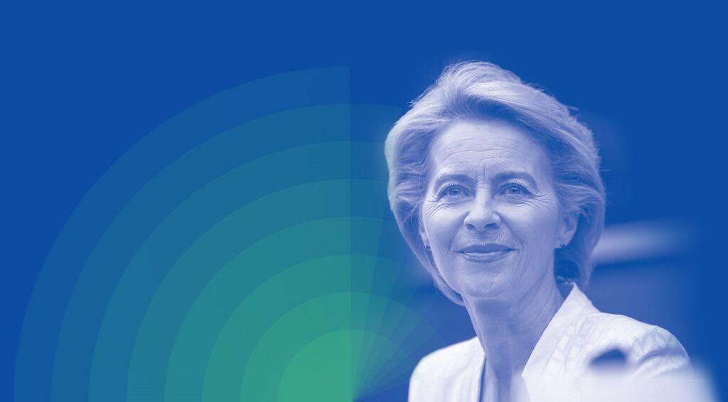 Ursula von der Leyen. Europeiska kommissionens nästa ordförande