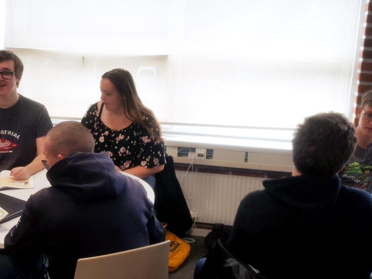 EU-rollspel på Nova Academy i Simrishamn