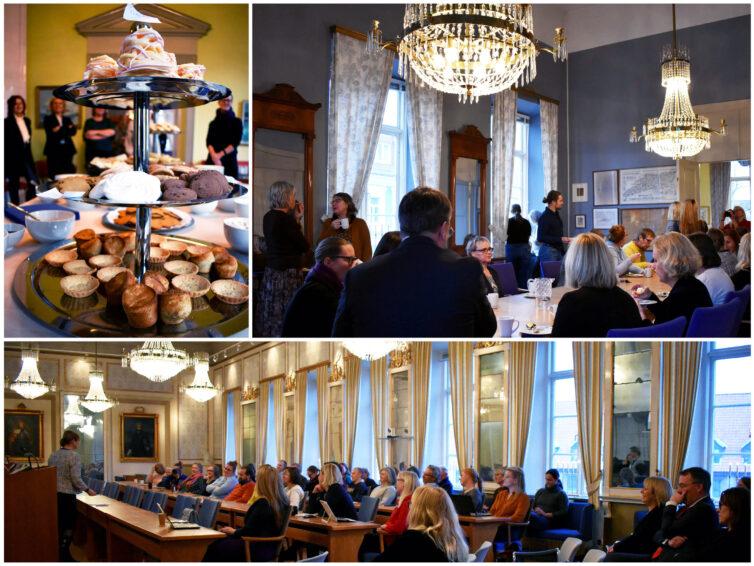 Vi höll ett välbesökt Brexit-seminarium i Ystads Gamla Rådhus