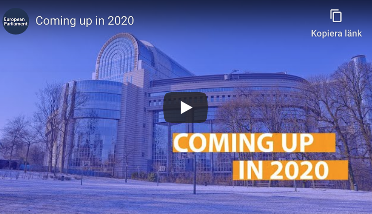 På gång inom EU 2020
