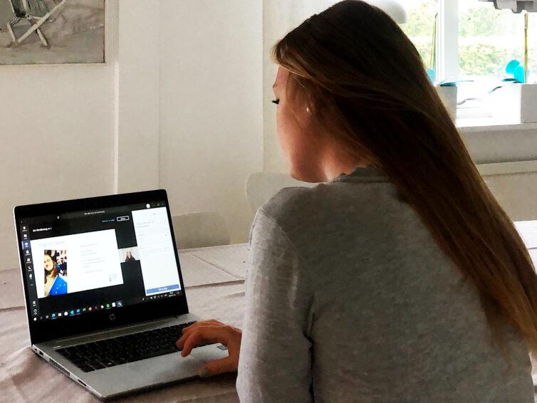 Under våren träffar Europa Direkt Sydskåne elever – på nätet