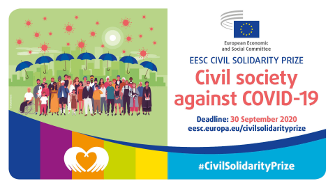 Bild från EESK med illustrationer och sista datum för ansökan - 30 september 2020