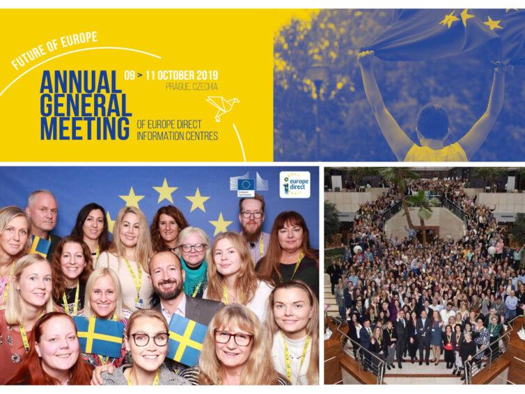EU-Kommissionens årliga EU-övergripande konferens för DG Comm och Europa Direkt