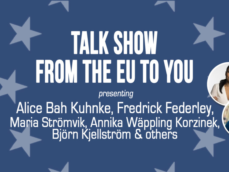 From the EU to you – a talk show, 5/12