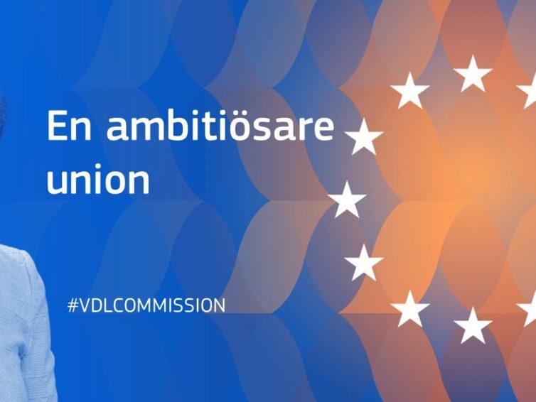 Den nya EU-kommissionen har tillträtt