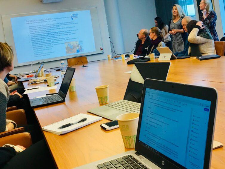 Europa Direkt Sydskåne i Strategiska EU-nätverket