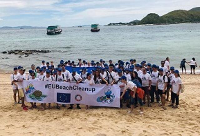 #EUBeachCleanUp – utmaning för att rädda våra hav!