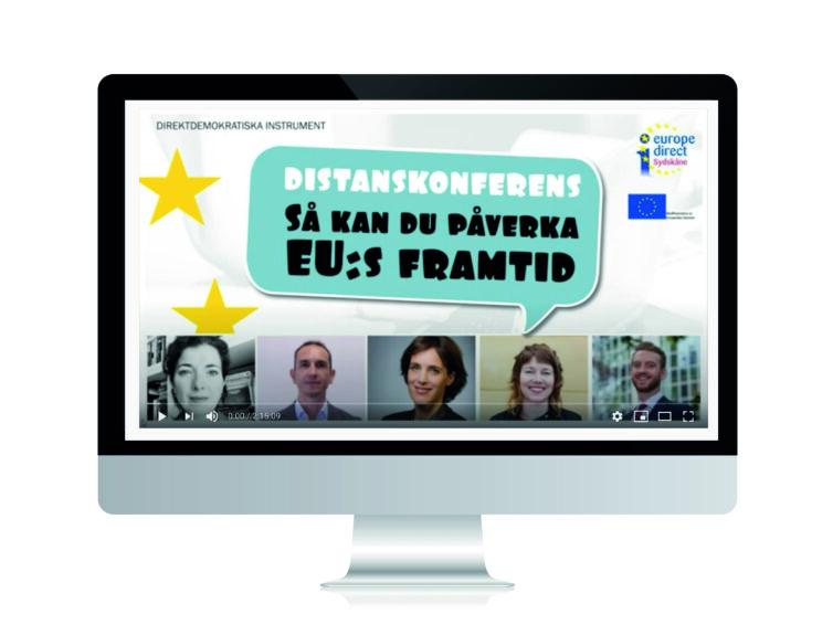 Se vår distanskonferens om hur du kan påverka politik och lagar i EU!