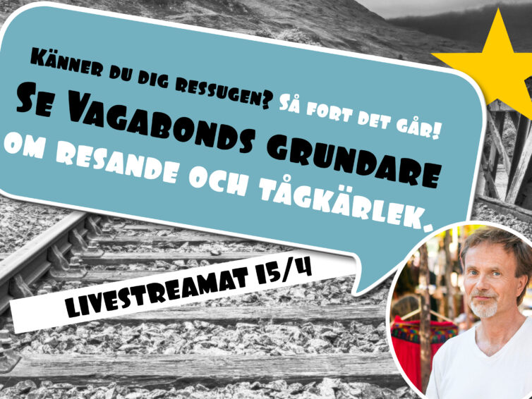 Surfa in på vår webbsändning torsdag 15/4 kl.18.30!