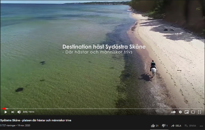 Film om hästengagemang i sydöstra Skåne