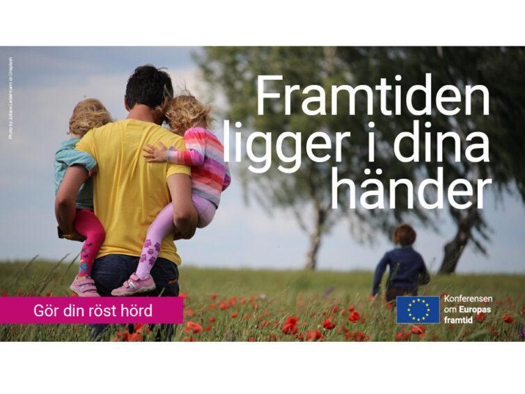 Dela med dig av dina idéer för framtidens Europa!