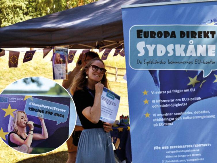 "Europa Direkt Sydskåne på ""sommarturné"""