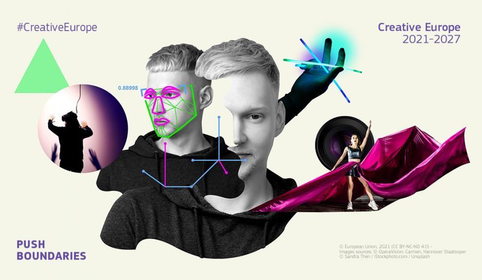 Annons för Kreativa Europa
