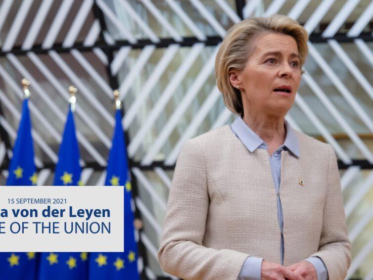 """Se """"State of the Union"""" – talet om tillståndet i EU – tillsammans med oss och en expert från Lunds universitet!"""